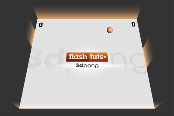 Pseudo 3D Pong